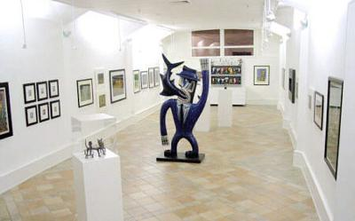 Ground floor exhibit