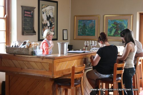 Tasting Room at Diemersdal Estate, Durbanville Wine Route