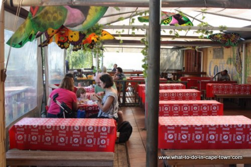 Cafe at Butterfly World, Cape Town