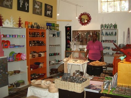 The well-stocked Craft shop at Montebello Design Centre