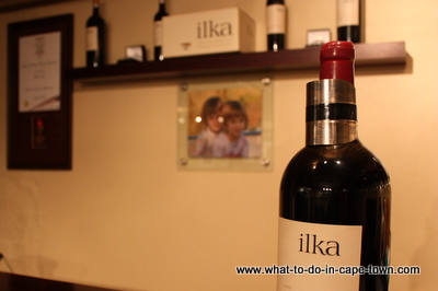 Ilka Wine, Alluvia Boutique Winery, Stellenbosch Wine Route, Cape Town