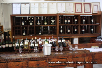 Tasting Room, Altydgedacht Wine Estate, Durbanville Wine Route, Cape Town