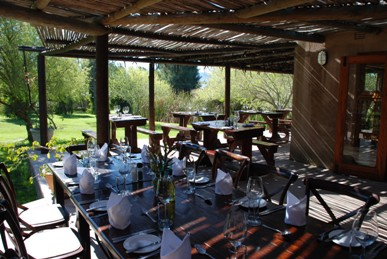 Lilly Pad Restaurant, Anura, Paarl Wine Route, Cape Town