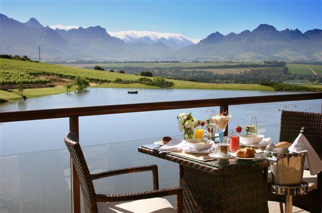 Raphael's Restaurant, AsaraEstate, Stellenbosch Wine Route, Cape Town