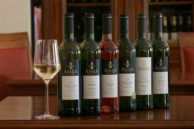Asara Wines, Stellenbosch Wine Route, Cape Town
