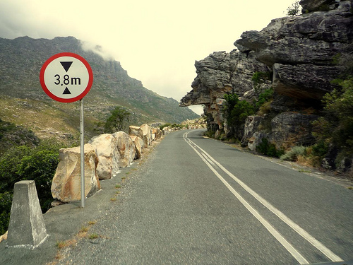 Bains Kloof Pass near Wellington