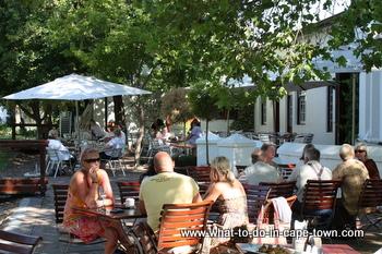 Restaurant, Blaauwklippen Wine Estate, Stellenbosch Wine Route, Cape Town