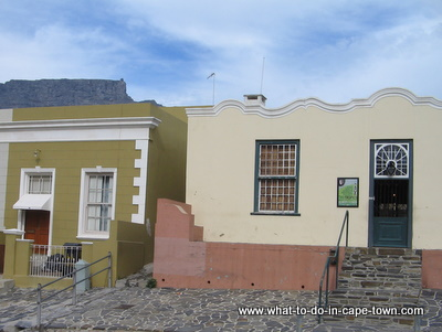Entrance to Bo Kaap Museum, Cape Town Culture, Cape Town