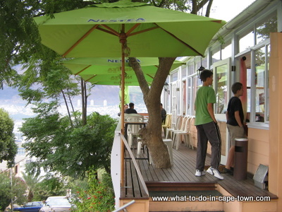 The Noon Gun Tea Room in the Bo Kaap