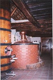 Cellar at Oude Wellington Estate, Western Cape Brandy Route