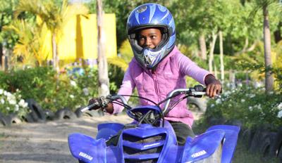 Quad Bike riding at Bugz Family Playpark, Cape Town