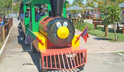 Choo-choo Train at Bugz Family Playpark, Cape Town