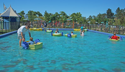 Boat Rides at Bugz Family Playpark, Cape Town