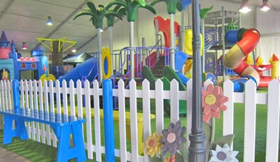 Play Area at Bugz Family Playpark, Cape Town
