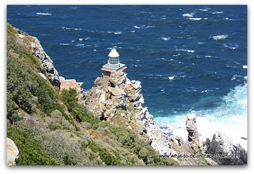 Cape Town Lighthouses - New Lighthouse at Cape Point Nature Reserve