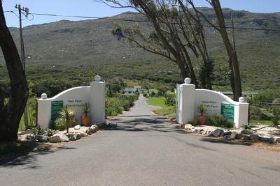 Entrance to Cape Point Ostrich Farm