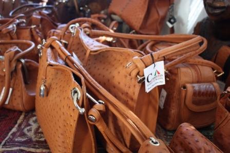 Handbags from Cape Point Ostrich Farm