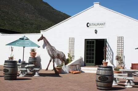 Restaurant at Cape Point Ostrich Farm