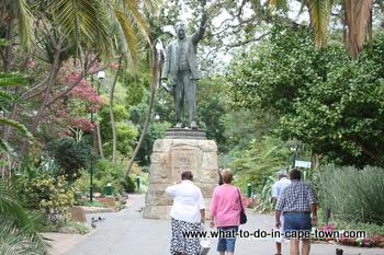 Statue of Cecil John Rhodes, Company Garden