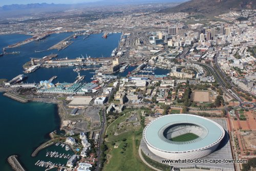 Cape Town Stadium, Cape Town Helicopters