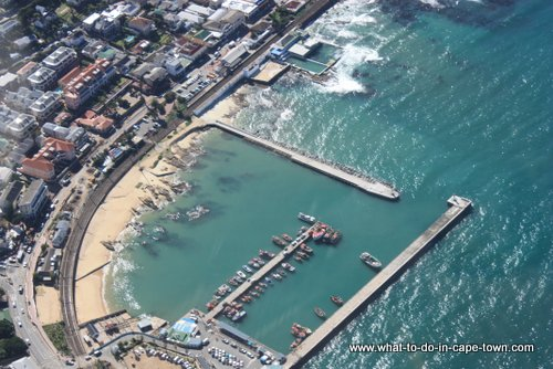 Kalk Bay Harbour, Cape Town Helicopters