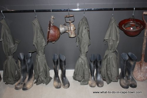 Miners clothes The Cape Town Diamond Museum