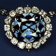 Replica of The Hope Diamond at The Cape Town Diamond Museum