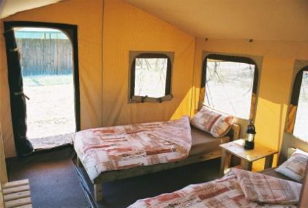 Tented Camp at Drakenstein Lion Park
