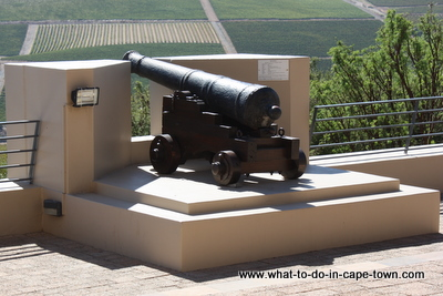 Cannon, Gun, Durbanville Hills Cellar, Durbanville Wine Route, Cape Town