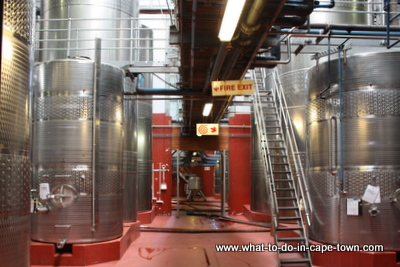 Fermentation Cellar, Durbanville Hills Cellar, Durbanville Wine Route, Cape Town