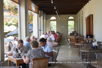 The Goatshed Restaurant at Fairview Estate