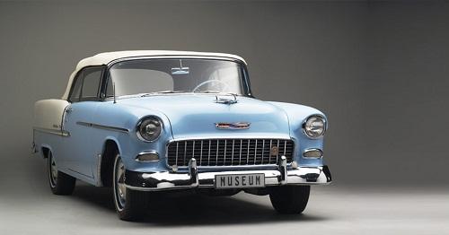 Franschhoek Motor Museum - 1955 CHEVROLET BEL AIR CONVERTIBLE