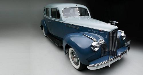 Franschhoek Motor Museum - 1941 PACKARD 110 DELUXE