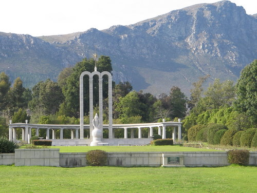 The Huguenot Monument in Franschhoek