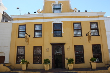 Martin Melck House which is home to the Gold of Africa Museum