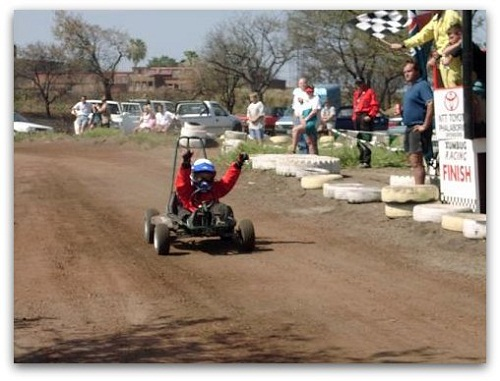 Gravel Karts at Helderberg Farm