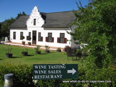 Hazendal Wine Estate, Stellenbosch Wine Route, Cape Town
