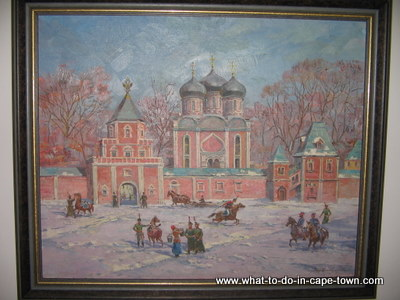 Russian Painting, Hazendal Wine Estate, Stellenbosch Wine Route, Cape Town