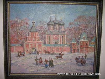 Russian Painting, Hazendal Wine Estate, Stellenbosch Wine Route, Cape Town