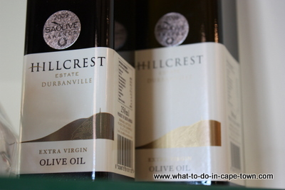 Olive Oil, Hillcrest Estate, Durbanville Wine Route, Cape Town