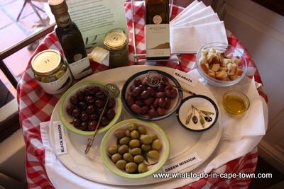 Olive Tasting, Hillcrest Estate, Durbanville Wine Route, Cape Town
