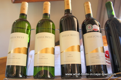 Wine, Hillcrest Estate, Durbanville Wine Route, Cape Town