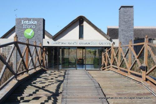 Entrance to Intaka Island Bird Sanctuary