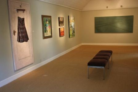 Temporary exhibition space at the Irma Stern Museum