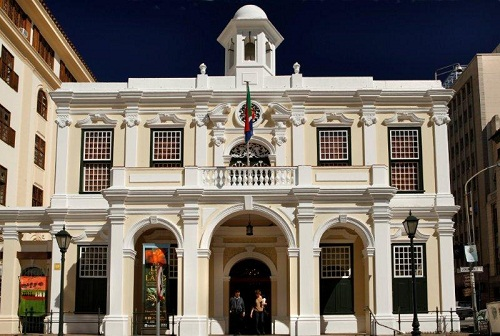 The Old Town Hall which houses the The Michaelis Collection, Cape Town