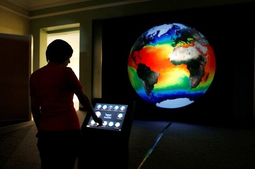 Gaiasphere exhibition at Iziko Planetarium, Cape Town