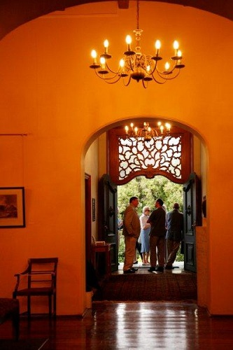 The fanlight above the main door said to be the work of Anton Anreith, The Rust en Vreugd Museum, Cape Town