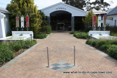 Entrance to Tasting Centre