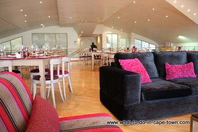 Seasons Restaurant, The House of JC Le Roux, Stellenbosch Wine Route, Cape Town