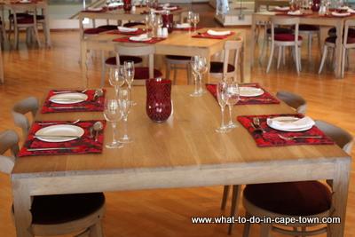 Seasons Restaurant at JC le Roux.